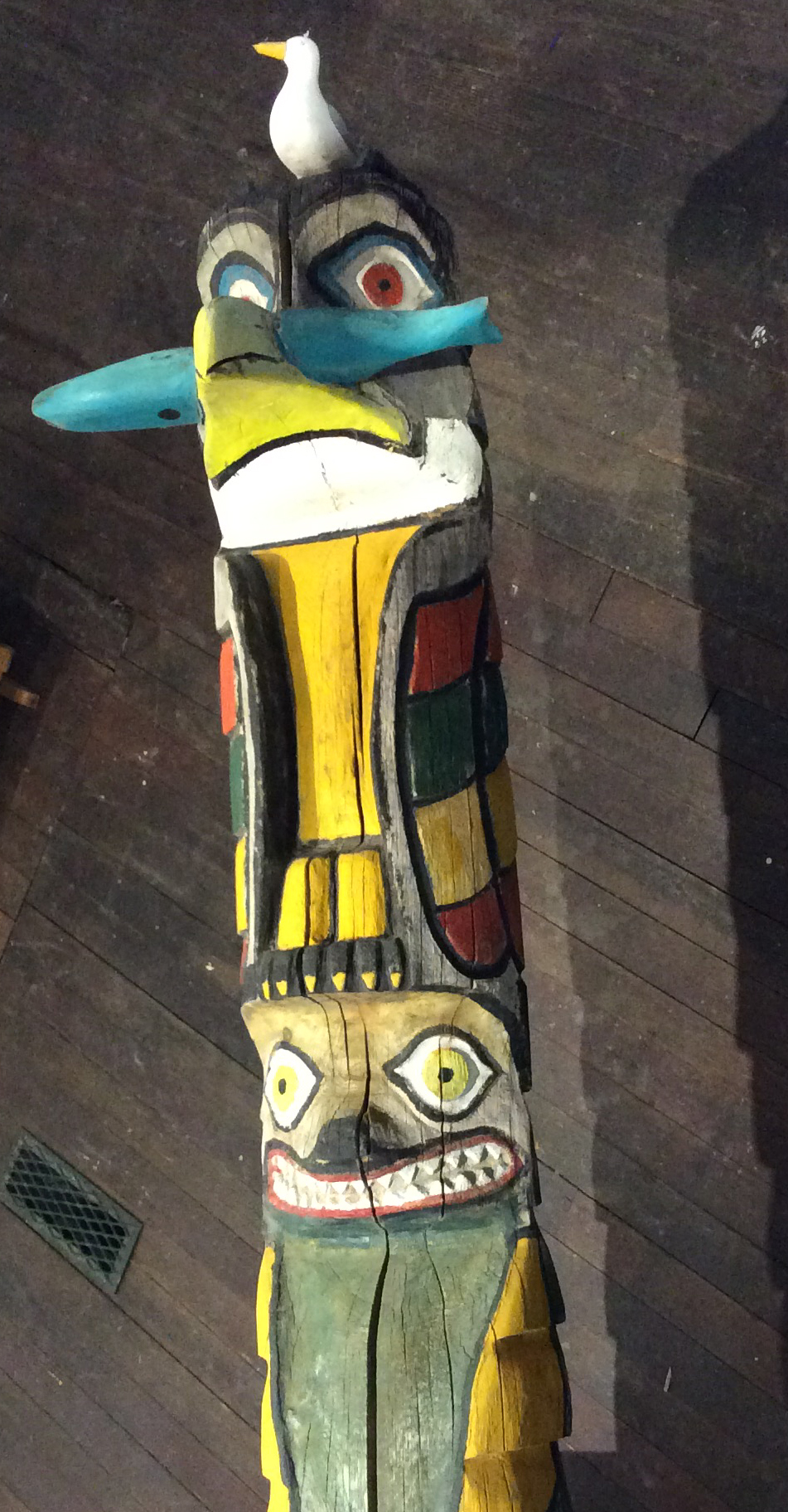 Totem Pole Broken Spoke Fine Art Gallery